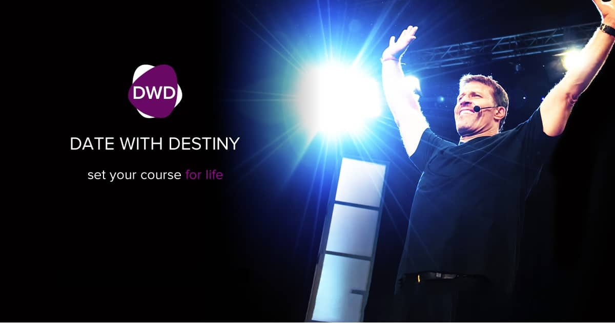 Tony Robbins Date With Destiny 2017 Gold Coast