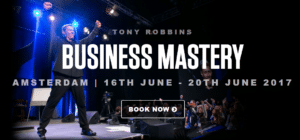 Tony Robbins business mastery Amsterdam Netherlands 2017