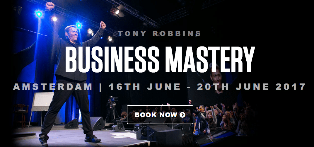 Tony Robbins Business Mastery Amsterdam 2017