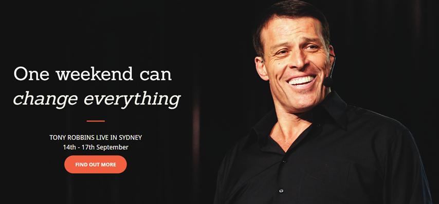 Tony Robbins UPW Sydney 2017