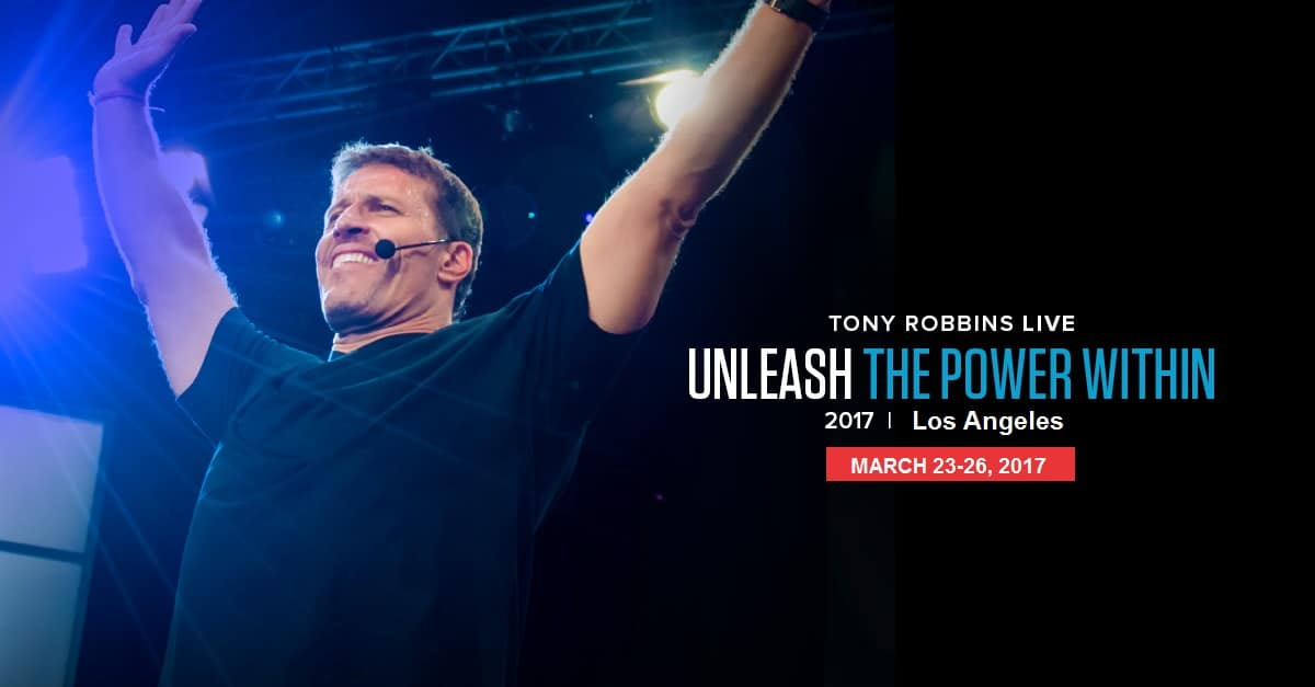 Tony Robbin Unleash The Power Within Los Angeles March 2017