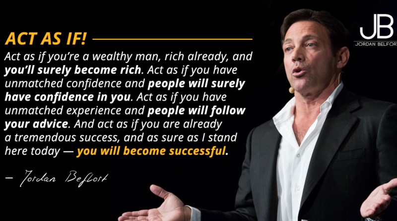 Jordan Belfort Sales Training The Straight Line Persuasion System To Close More Deals