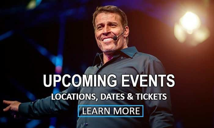 Tony Robbins Events Schedule
