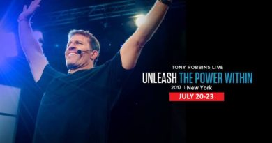 Tony Robbins Unleash The Power Within New York 2017