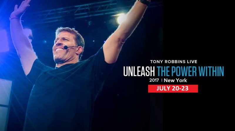 Tony Robbin Unleash The Power Within New York 2017 July