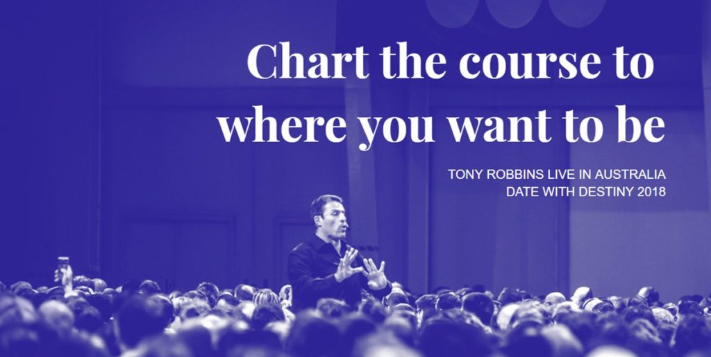 Tony Robbins DWD Gold Coast 2018 Tickets