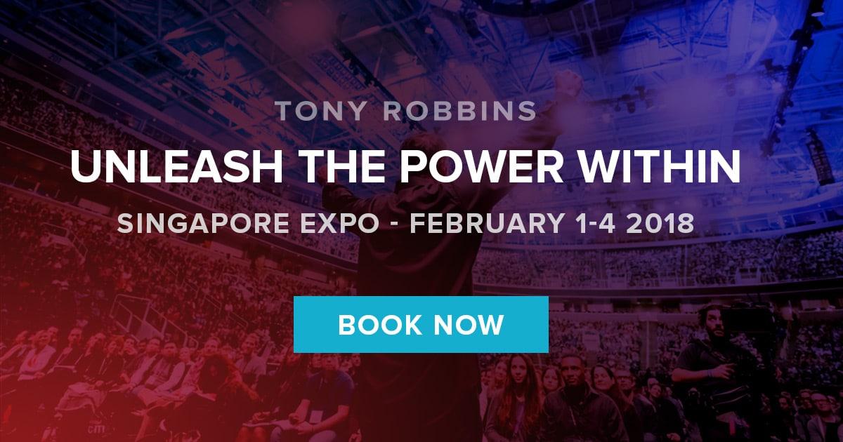 Tony Robbins UPW Singapore 2018
