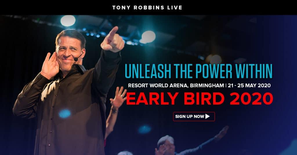 Tony Robbins London 2020